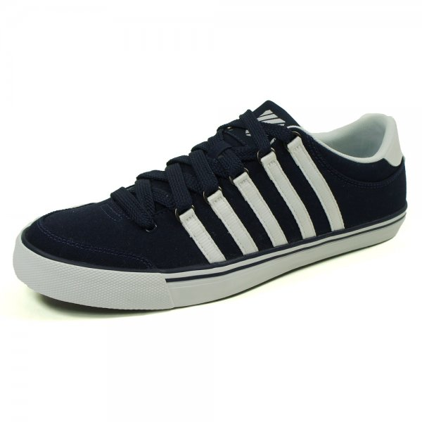 K Swiss Chilton Canvas Trainers in Navy