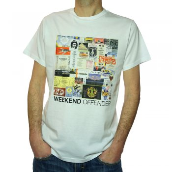 Flyers T Shirt in White