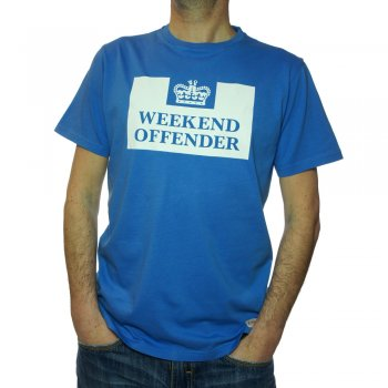 Prison T Shirt in Inter Blue