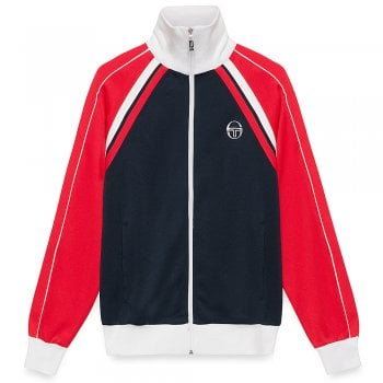 Sergio Tacchini Ghibli Tracktop Archivo in Navy and Red