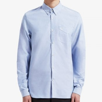 Fred Perry Classic Oxford Shirt in Light Smoke
