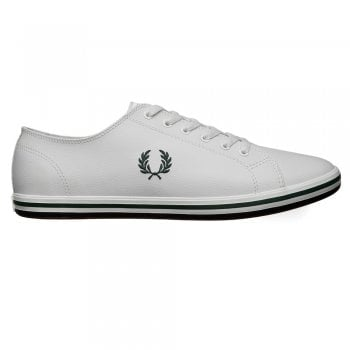 Fred Perry Kingston Leather Pumps in White