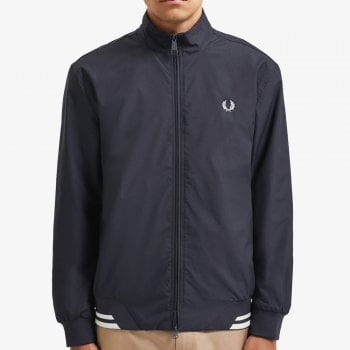 Fred Perry Brentham Jacket in Navy