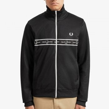 Fred Perry Taped Chest Track Jacket