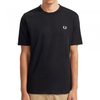 Fred Perry Taped Side T-Shirt Black