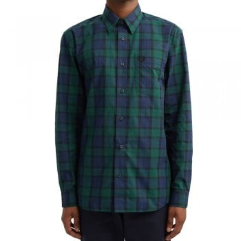 Fred Perry Mens M7608 154 Winter Tartan Shirt