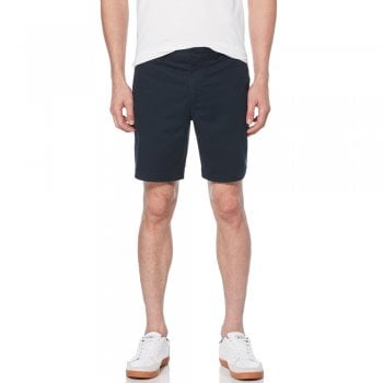 Original Penguin Stretch Shorts in Dark Sapphire