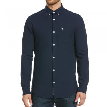 Original Penguin Oxford Shirt in Dark Sapphire