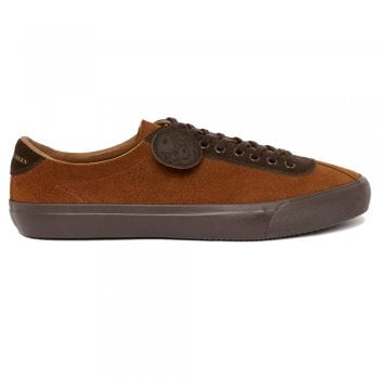 Pretty Green Mens Suede Trainers