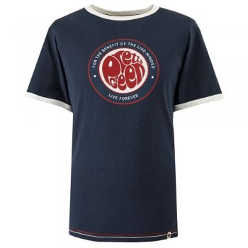 Pretty Green Mens Like-minded Print T-Shirt
