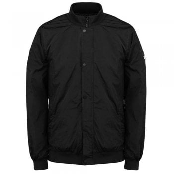 Weekend Offender Riberalata in Black Parachute Fabric