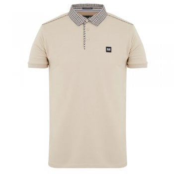 Weekend Offender Diani Polo Shirt In Sand