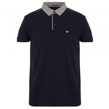Weekend Offender Diani Polo Shirt In Navy