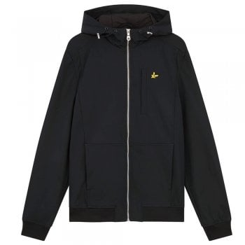 Lyle and Scott Softshell Jacket In Black