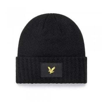 Lyle and Scott Casuals Beanie in Black