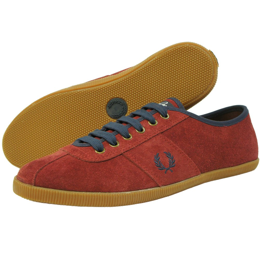 Buy Fred Perry Hayes Unlined Suede Pump